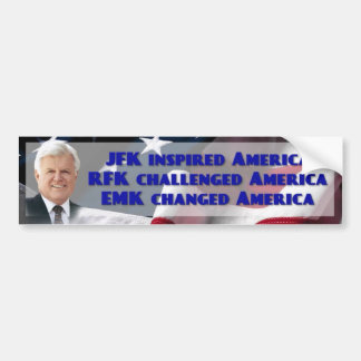 Edward Ted M Kennedy, U.S. Senator Bumper Sticker
