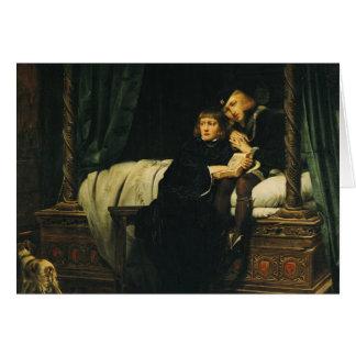 Edward V  and Richard, Duke of York in the Card