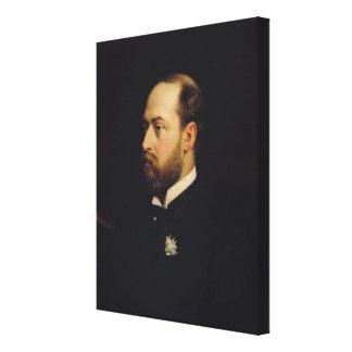 Edward VII Stretched Canvas Prints