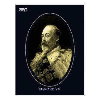 Edward VII King of England Postcard