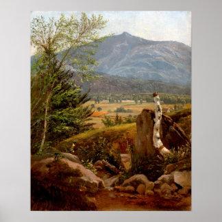 Edward Willard Nichols Moat Mountain, North Conway Poster