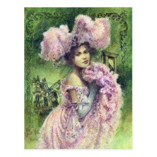Edwardian Dancer Postcard