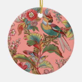 Edwardian Parrot ~ Duchess Ceramic Ornament