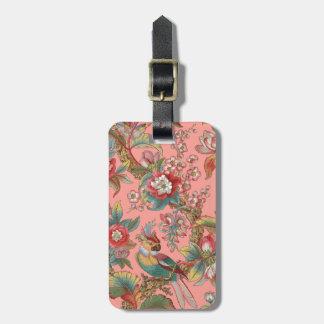 Edwardian Parrot ~ Duchess Luggage Tag