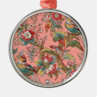 Edwardian Parrot ~ Duchess Metal Ornament