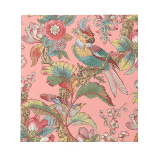 Edwardian Parrot ~ Duchess Notepad