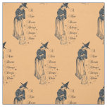 Edwardian Witch - A New Broom Always Sweeps Clean Fabric