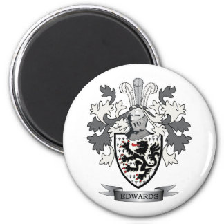 Edwards Family Crest Coat of Arms Magnet