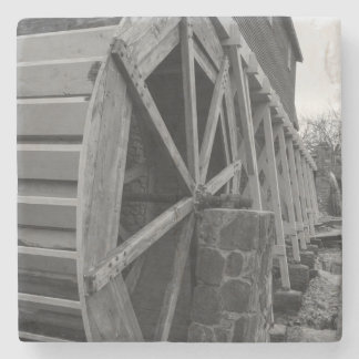 Edwards Water Wheel Stone Coaster