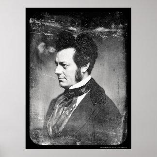 Edwin Forrest Daguerreotype 1852 Poster