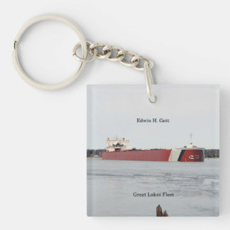 Edwin H. Gott acrylic key chain