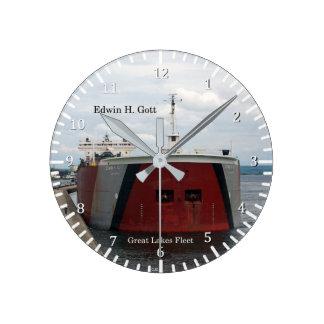 Edwin H. Gott clock
