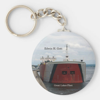 Edwin H. Gott key chain