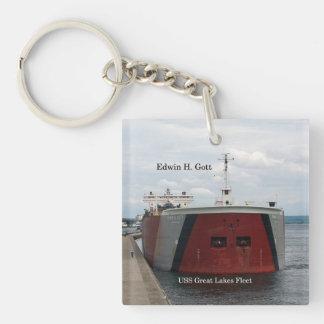Edwin H. Gott key chain