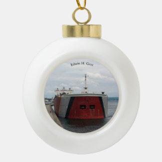 Edwin H. Gott Soo ball or snowflake ornament