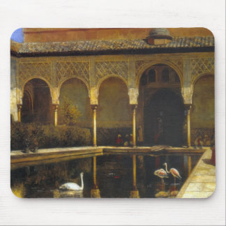 Edwin Lord Weeks- A Court in the Alhambra Mousepads