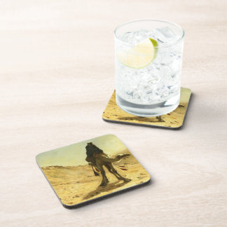 Edwin Lord Weeks- The Camel Rider Beverage Coaster