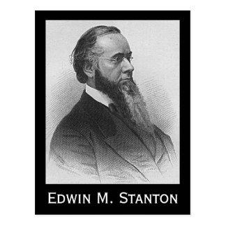 Edwin M. Stanton Postcard