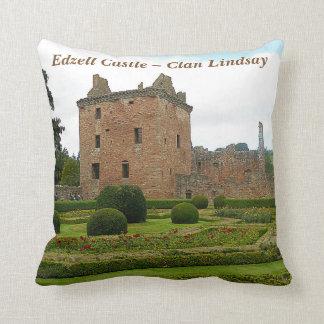 Edzell Castle – Clan Lindsay Throw Pillow