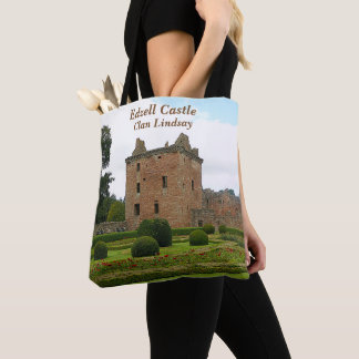 Edzell Castle – Clan Lindsay Tote Bag