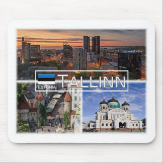 EE Estonia - Tallinn - City Center Mouse Pad