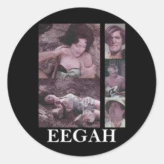 Eegah B-Movie Stuff Stickers