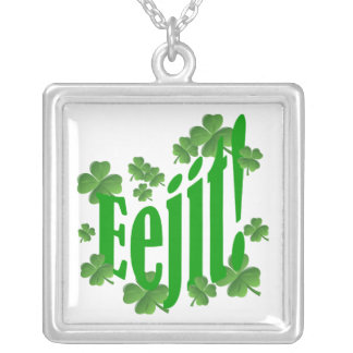 Eejit Silver Plated Necklace