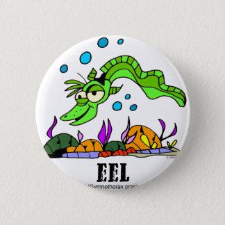 Eel by Lorenzo © 2018 Lorenzo Traverso7 2 Inch Round Button