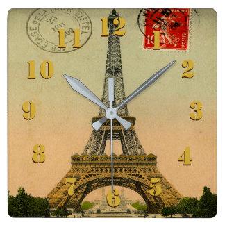 Eelgant and Beautiful Vintage Paris Clocks