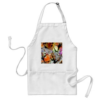 Eerie Abstract Adult Apron