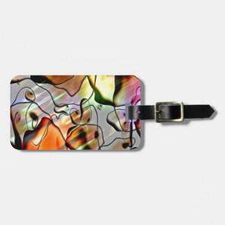 Eerie Abstract Luggage Tag