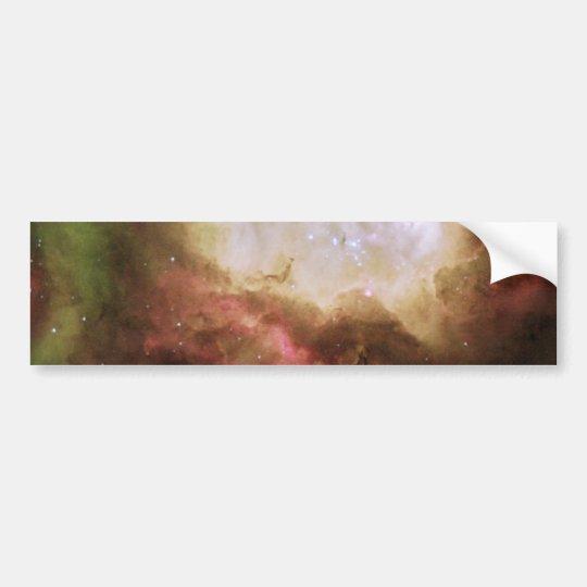 Eerie ghost in Carina Nebula Bumper Sticker