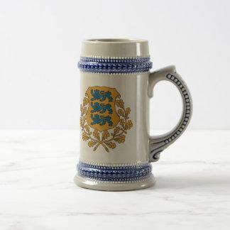 Eesti - Estonian Coat of Arms Beer Stein