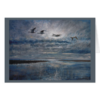 Eevening Goose flight Card