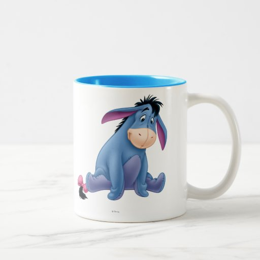 Eeyore 4 coffee mugs