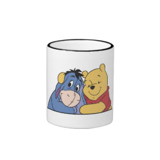 Eeyore and Winnie the Pooh Coffee Mugs