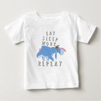 Eeyore | Eat Sleep Work Repeat Baby T-Shirt
