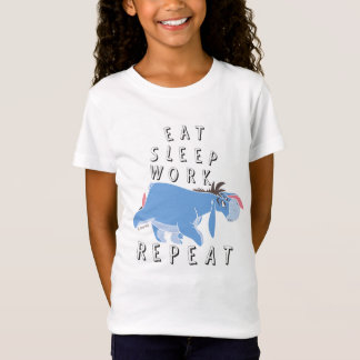 Eeyore | Eat Sleep Work Repeat T-Shirt