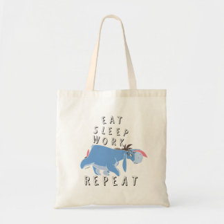 Eeyore | Eat Sleep Work Repeat Tote Bag