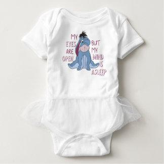 Eeyore | My Mind is Asleep Quote Baby Bodysuit