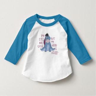 Eeyore | My Mind is Asleep Quote T-Shirt