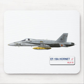 EF-18A HORNET SPANISH AIR FORCE MOUSE PAD