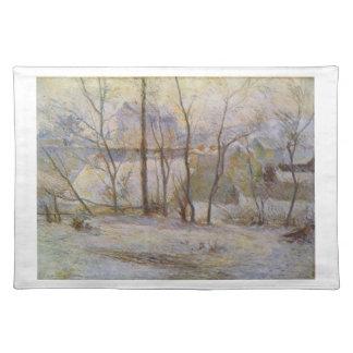 Effect of Snow - Paul Gauguin (1879) Place Mats