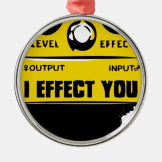 effecter metal ornament