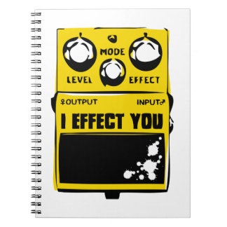 effector spiral notebook