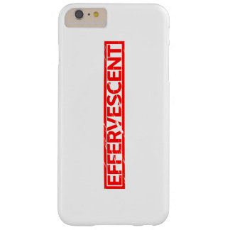 Effervescent Stamp Barely There iPhone 6 Plus Case