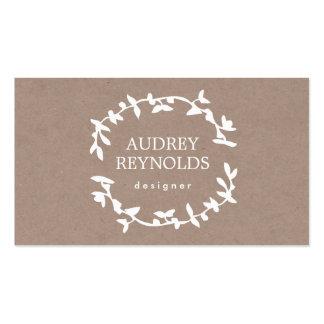 Effet bronzage de papier d'emballage de FEUILLE de Carte De Visite Standard