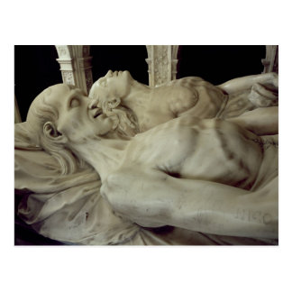 Effigies of Louis XII  and Anne of Brittany Postcard
