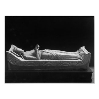 Effigy of Eleanor of Aquitaine Poster