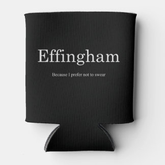 Effingham Can Coozie